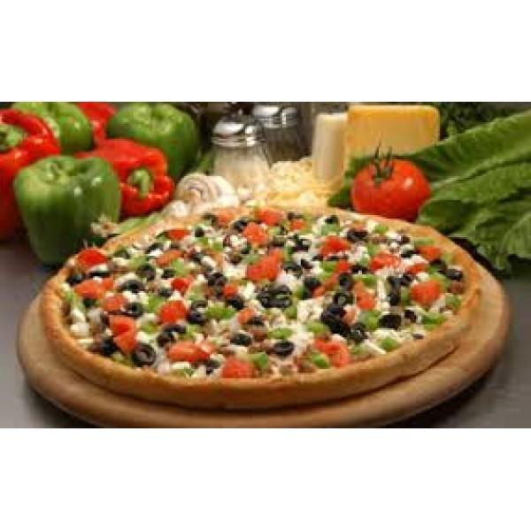 Πίτσα Ελληνική χωριάτικη